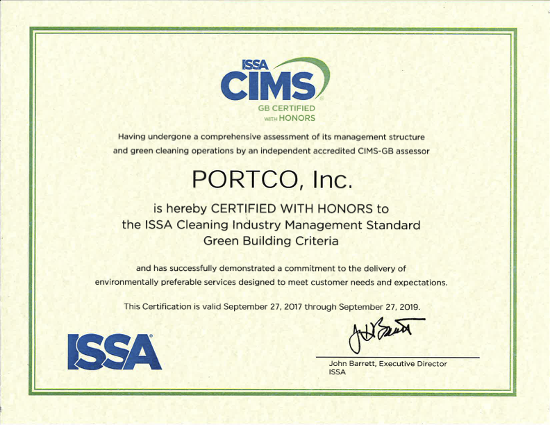 Awardsaccreditations Archives Portco